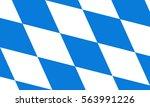 vector flag of bavaria | Shutterstock .eps vector #563991226