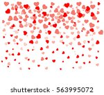 background with different... | Shutterstock .eps vector #563995072