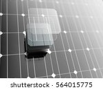 solar panel  technology... | Shutterstock . vector #564015775