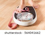 Stock photo weight scale 564041662