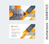 vector creative business card...   Shutterstock .eps vector #564087415