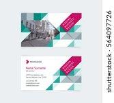 vector creative business card...   Shutterstock .eps vector #564097726