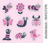 Cute Sticker Collection Of...