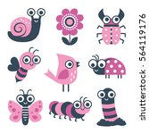 Cute Collection Of Vector...