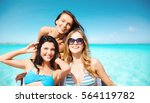 summer holidays  travel  people ... | Shutterstock . vector #564119782