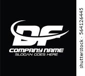 df logo   Shutterstock .eps vector #564126445