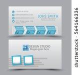 business card design set...   Shutterstock .eps vector #564166336