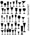 goblet vector | Shutterstock .eps vector #56416987