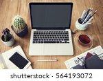 computer network connection... | Shutterstock . vector #564193072