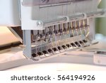 the image of sewing machine | Shutterstock . vector #564194926