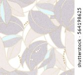 light floral seamless pattern.... | Shutterstock .eps vector #564198625