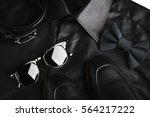 businessman accessories. man's...   Shutterstock . vector #564217222