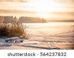 Beautiful Morning In Winter Time