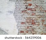 Dilapidated Brick Wall