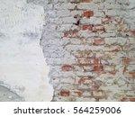 Dilapidated Brick Wall