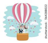 vector cartoon funny...   Shutterstock .eps vector #564288022