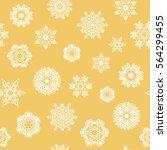 celebratory seamless pattern...   Shutterstock .eps vector #564299455