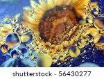 colorful bubbles - stock photo