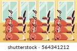 gym colorful 08 | Shutterstock .eps vector #564341212