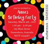 Birthday Party Invitation
