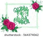 vector illustration of women's... | Shutterstock .eps vector #564374062