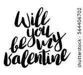 handdrawn lettering of a phrase ...   Shutterstock .eps vector #564406702