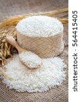 jasmine rice | Shutterstock . vector #564415405