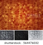 triangular abstract background. ... | Shutterstock .eps vector #564476032