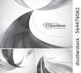 monochrome abstract background. ... | Shutterstock .eps vector #564476062
