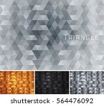 triangular abstract background. ... | Shutterstock .eps vector #564476092