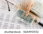 accounting concept. accountant...   Shutterstock . vector #564493552