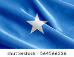 fabric texture of the flag of... | Shutterstock . vector #564566236