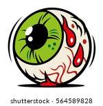 vector comic illustration of... | Shutterstock .eps vector #564589828