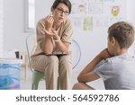 Teacher Reprimanding Misbehave...
