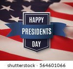 happy presidents day ... | Shutterstock .eps vector #564601066