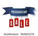 presidents day sale  background ... | Shutterstock .eps vector #564601276