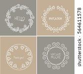 vector   abstract design...   Shutterstock .eps vector #564611578