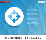 colored icon or button of... | Shutterstock .eps vector #564611632