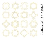set of templates for your... | Shutterstock .eps vector #564641866