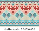 seamless pattern on the theme... | Shutterstock .eps vector #564657616