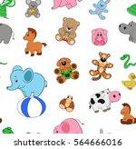 vector illustration  pattern... | Shutterstock .eps vector #564666016