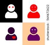 set person icons  valentines...