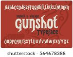 classic smooth font named ... | Shutterstock .eps vector #564678388
