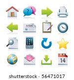 web icons | Shutterstock . vector #56471017