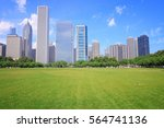 chicago  illinois in the united ... | Shutterstock . vector #564741136