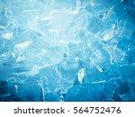 ice for background | Shutterstock . vector #564752476