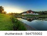 royal ratchaphruek park a large ... | Shutterstock . vector #564755002