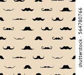 vintage dad mustaches vector...   Shutterstock .eps vector #564780766