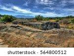 ruins of panoias  an ancient... | Shutterstock . vector #564800512