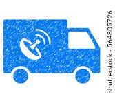 remote control van grainy... | Shutterstock . vector #564805726